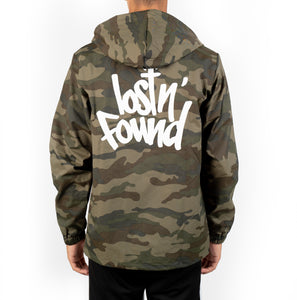 Camo lostN'Found Windbreaker