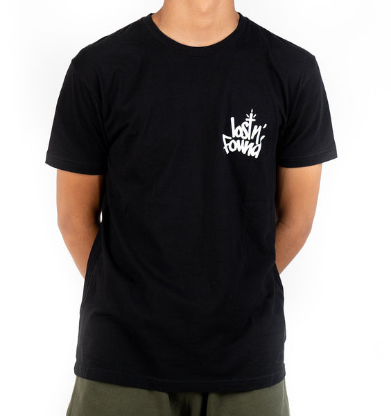 Black lostN'Found Tee