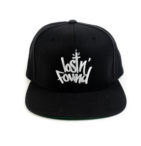 Black lostN'Found Snap Back