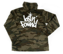 Load image into Gallery viewer, Camo lostN'Found Windbreaker