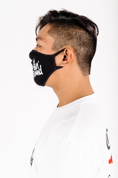 Black lostN'Found Face Mask