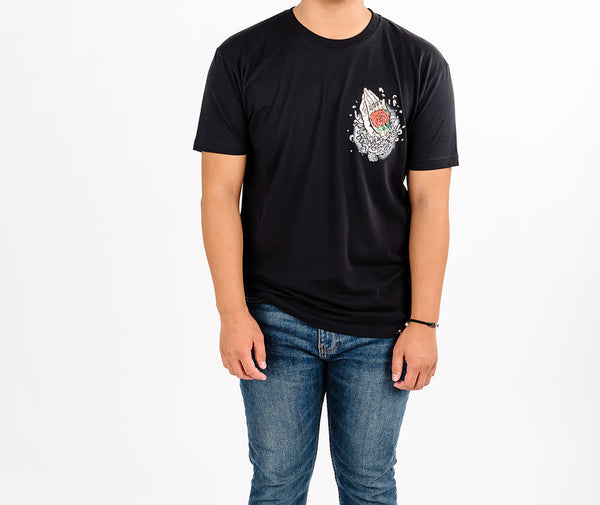 Black lostN'Found Break Every Chain Tee