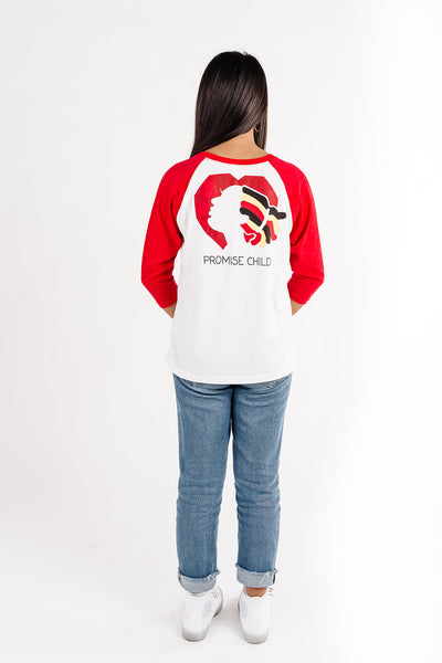 Promise of Hope House - Children's 3/4 Sleeve Raglan