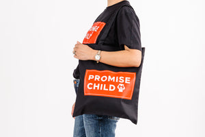 Promise Child + lost'NFound Black Canvas Bag