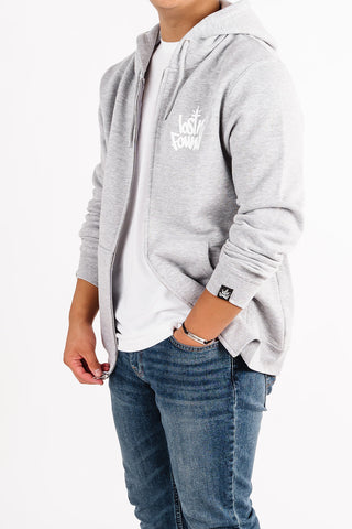 Grey lostN'Found Zip Up