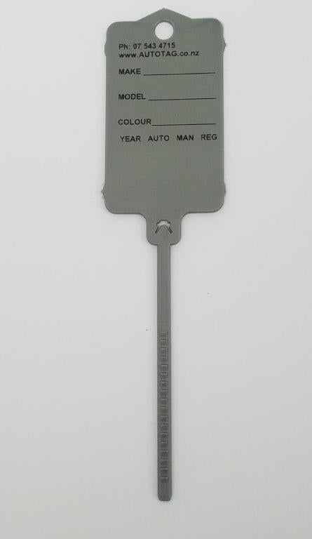 Mark II Automotive Key Tag Silver