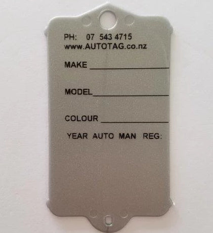 Mark I Automotive Key Tag