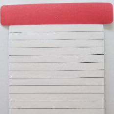 Autotag T Card Blank Red