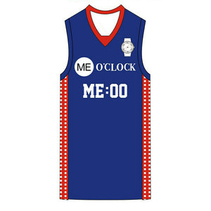 Authentic Me O'clock Basketball Jersey