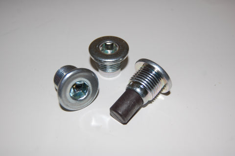 Socket Head Drain and Fill Plugs includes gasket for axle
