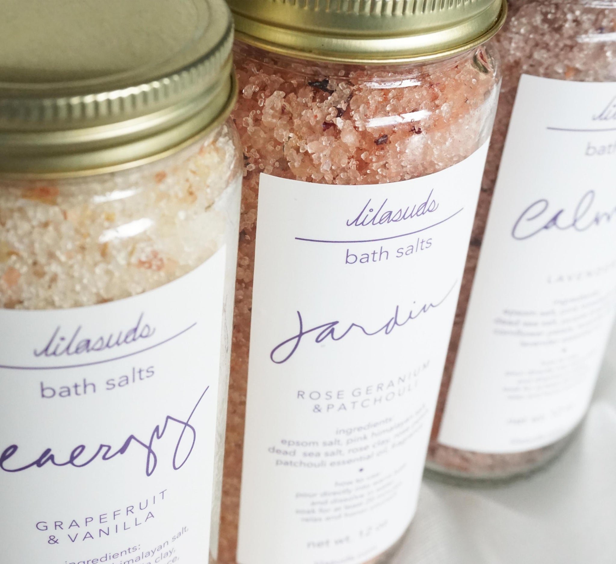Three different ways to use your Lilasuds Bath Salts