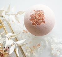 Ruby Pink Shea Butter Foaming Bath Bomb