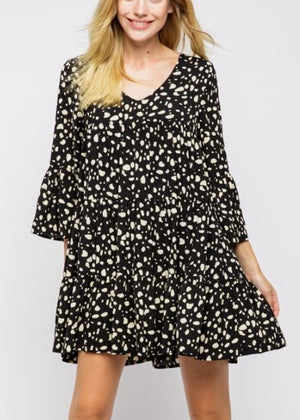 DOTTED SHIFT DRESS - Cooper & Bailey's