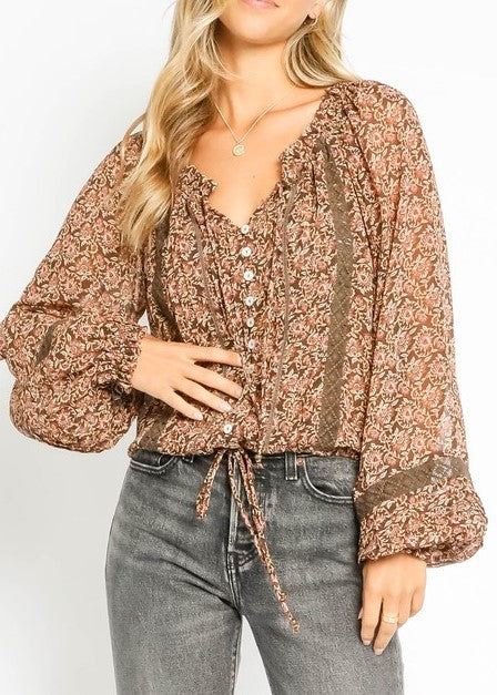 GRACIE BLOUSE - Cooper & Bailey's