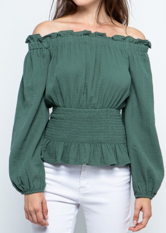 HOLLY OFF SHOULDER TOP - Cooper & Bailey's