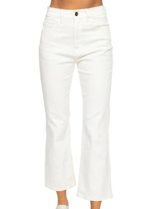 LIVELY MOM JEANS IN WHITE