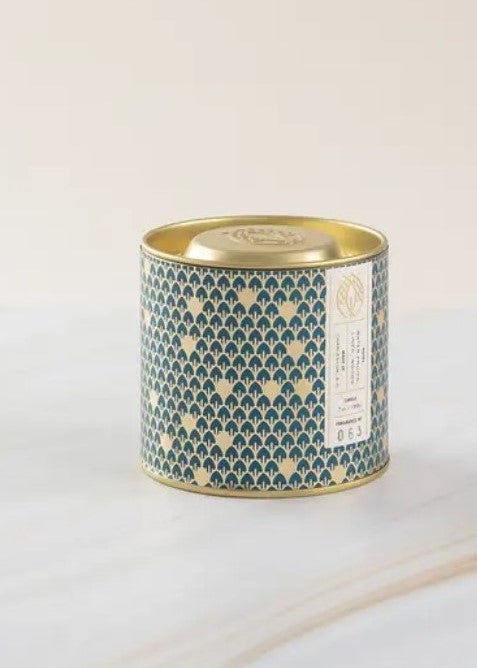 NO. 63 GOLD TIN EMBOSSED LID - Cooper & Bailey's
