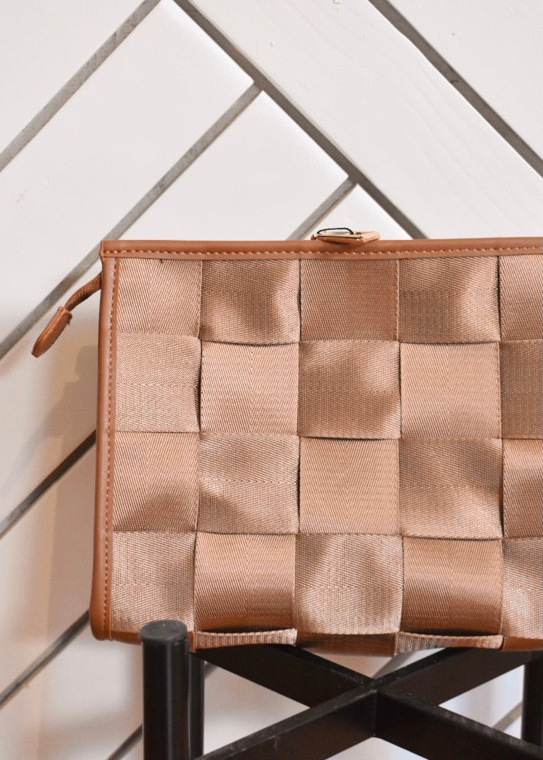 AHDORNED WOVEN CLUTCH - Cooper & Bailey's