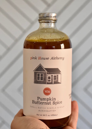 PINK HOUSE PUMPKIN BUTTERNUT SPICE SYRUP - Cooper & Bailey's