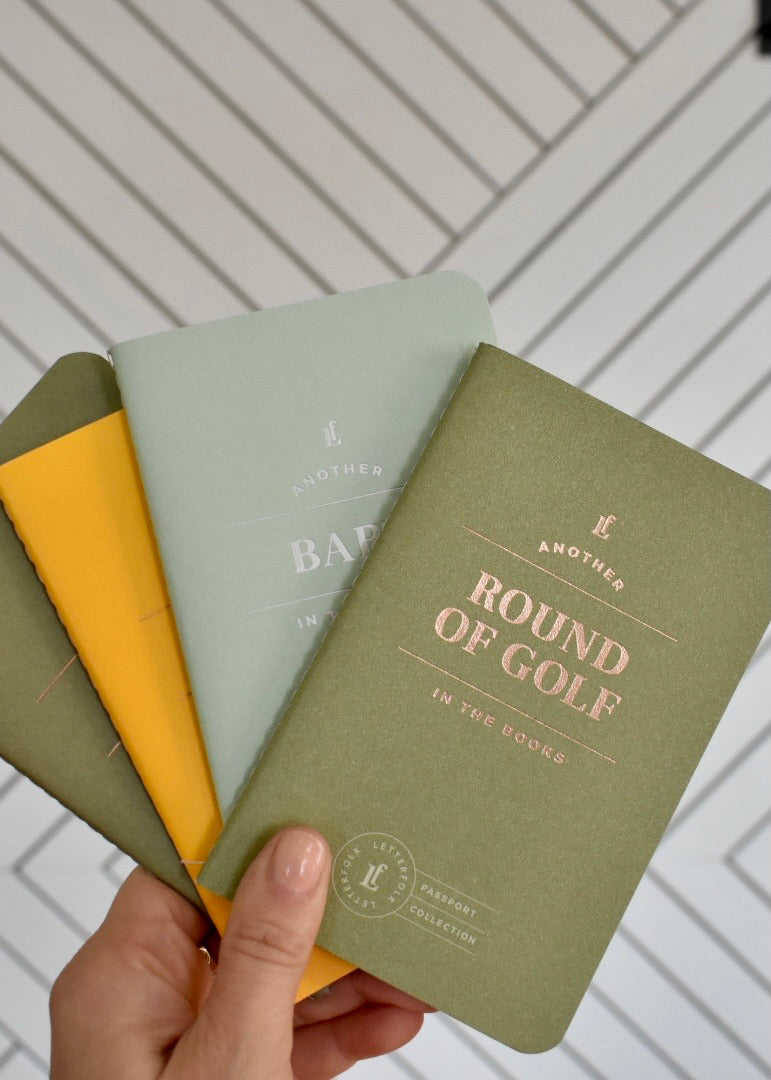 PASSPORT JOURNALS - Cooper & Bailey's
