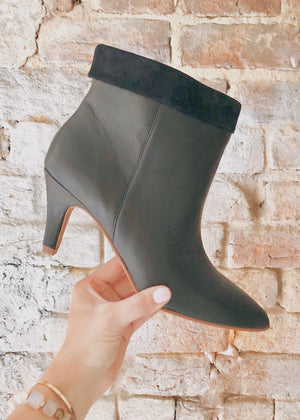 OJAI LEATHER BOOTIES - Cooper & Bailey's