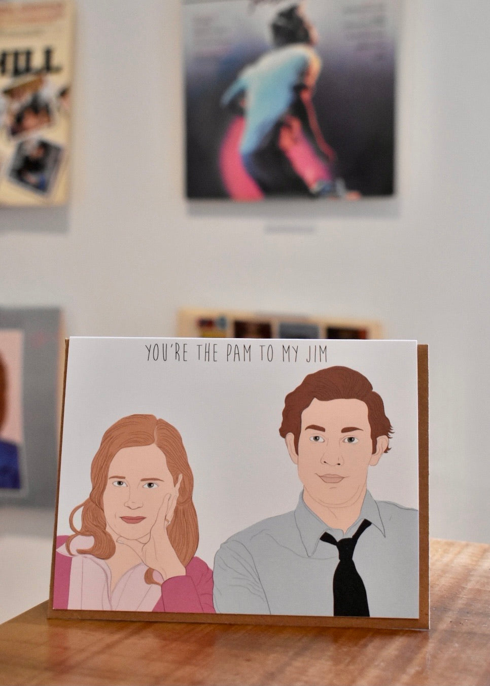 PAM + JIM CARD