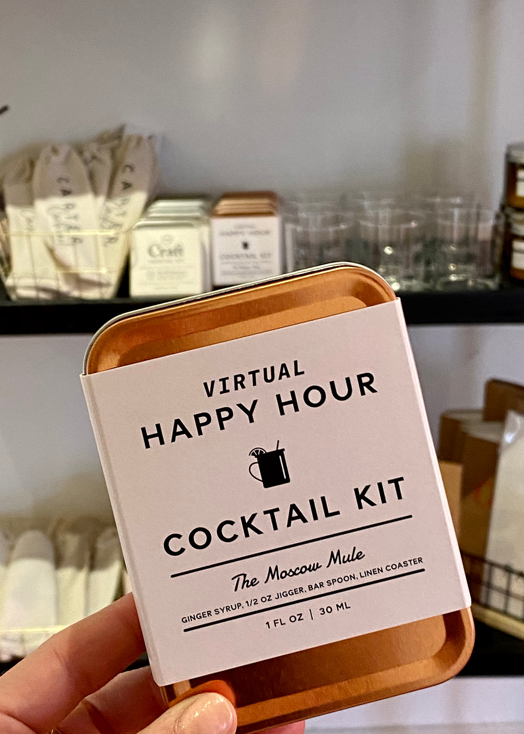 CARRY ON COCKTAIL VIRTUAL HAPPY HOUR KIT - Cooper & Bailey's