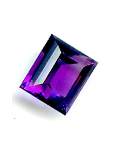 7.82ct Rectangle Fine African Amethyst