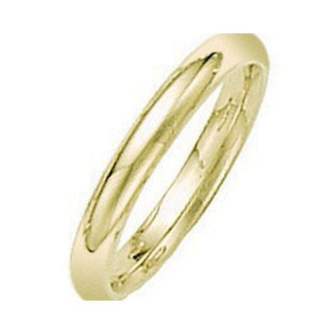 14kt Yellow Gold Comfort Fit Wedding Band 3MM