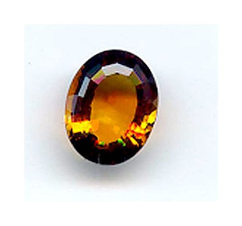 5.47ct Oval Palmeria Citrine
