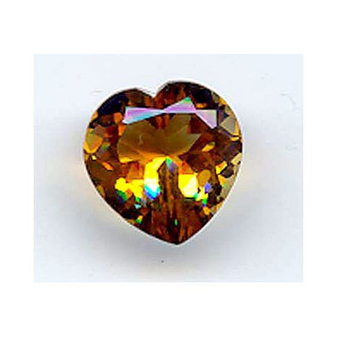 12.58ct Heartshape Golden Citrine