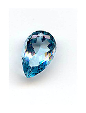 3.65ct Pearshape Very Fine Aquamarine