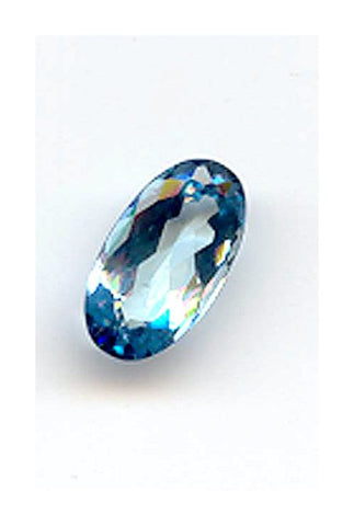 4.32ct Oval Fine Aquamarine