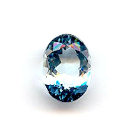 4.59ct Oval Light Blue Aquamarine