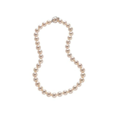 10-11mm White Freshwater Pearl Necklace A