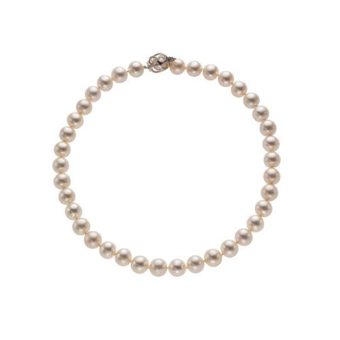 11-12mm White Freshwater Pearl Necklace A