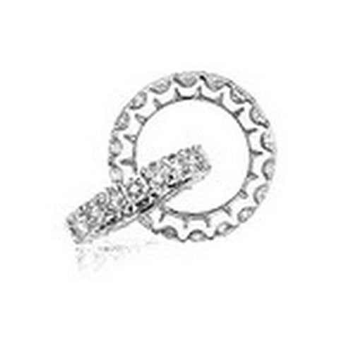 14kt Gold Shared Prong Princess Diamond Wedding Band 2 1/5ct TW