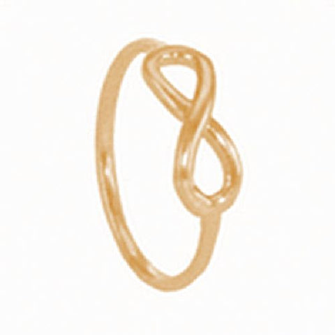 14kt Yellow Gold High Polished Infinity Ring