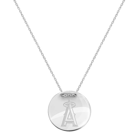 MLB Los Angeles Angels Logo Adjustable Necklace
