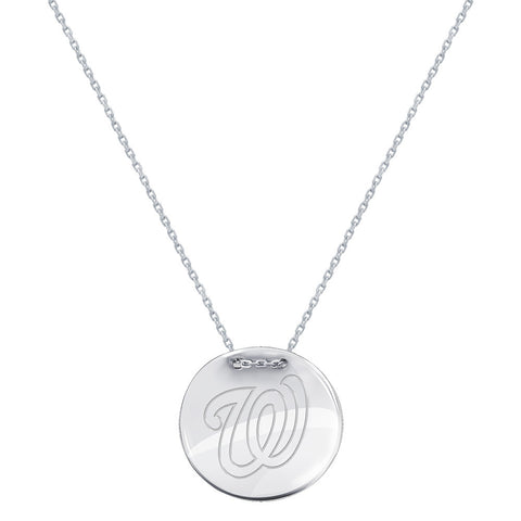 MLB Washington Nationals Logo Adjustable Necklace