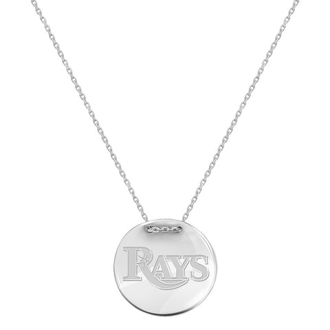MLB Tampa Bay Rays Logo Adjustable Necklace