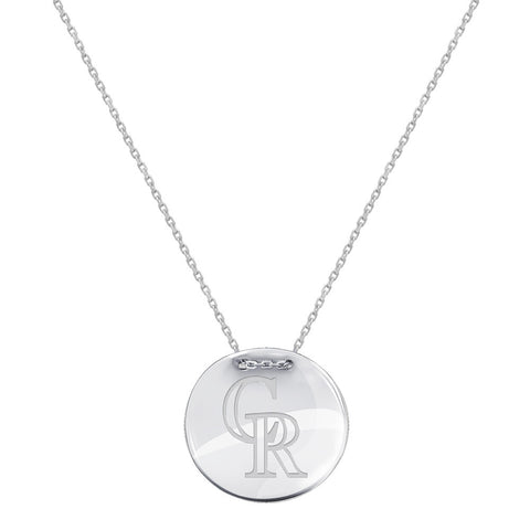 MLB Colorado Rockies Logo Adjustable Necklace