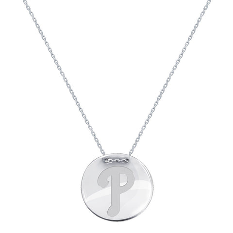 MLB Philadelphia Phillies Logo Adjustable Necklace