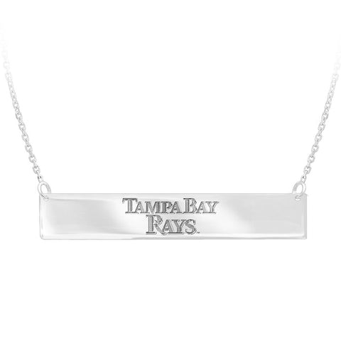 MLB Tampa Bay Rays Bar Adjustable Necklace