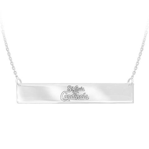 MLB St. Louis Cardinals Bar Adjustable Necklace