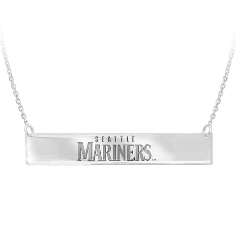MLB Seattle Mariners Bar Adjustable Necklace