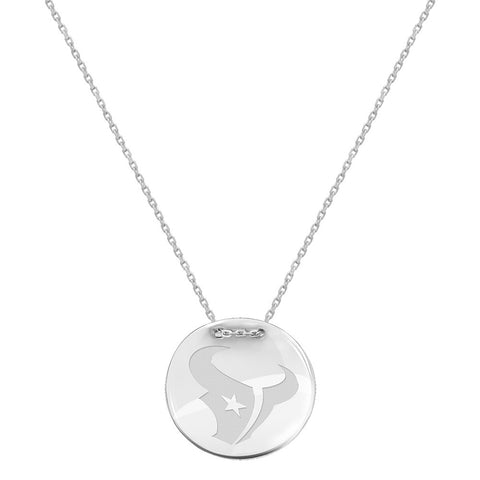 NFL Houston Texans Logo Adjustable Necklace