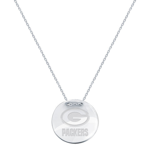NFL Green Bay Packers Logo Adjustable Necklace