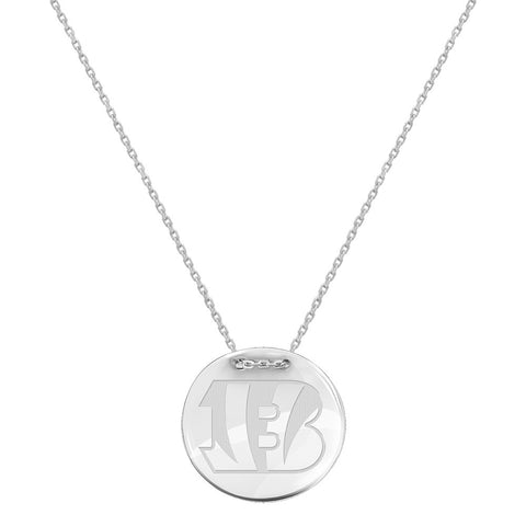 NFL Cincinnati Bengals Logo Adjustable Necklace