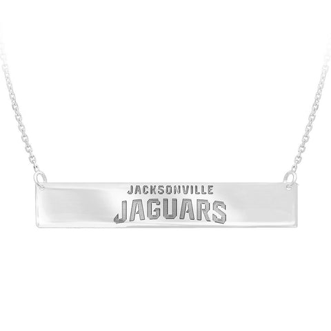NFL Jacksonville Jaguars Bar Adjustable Necklace